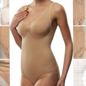 Bodysuit Body Briefer Shaper Leotard Firm Control